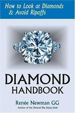 Diamond Handbook : How to Look at Diamonds and Avoid Ripoffs-ExLibrary