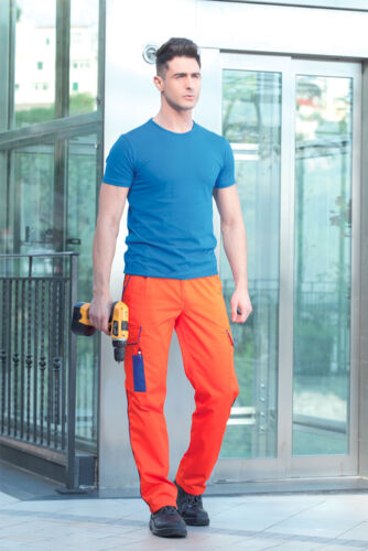 Pantalone Pantaloni Multitasche da Lavoro Abbigliamento Abiti Pant Work