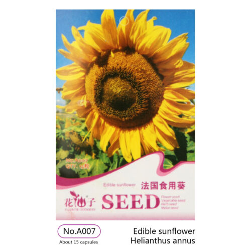 Flower Seed 6//15//20Pcs  Sunflower Seeds Herb Seed Home Garden Decor Plant