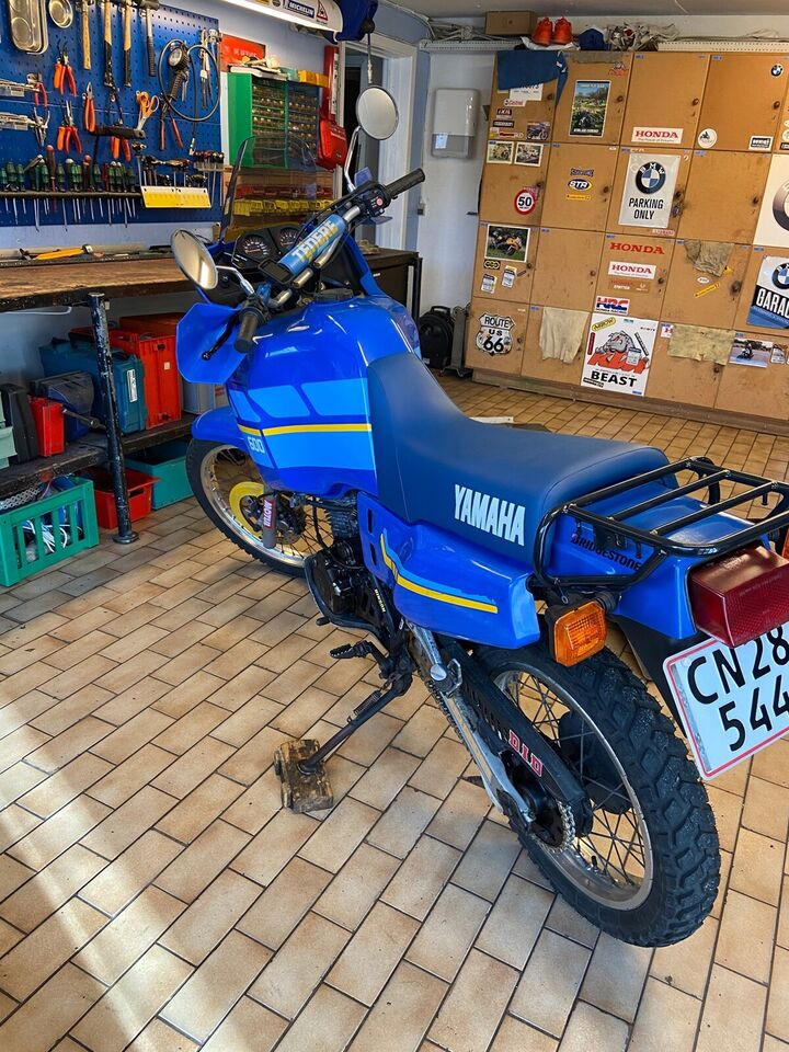 Yamaha, Xt 600z, 600 ccm