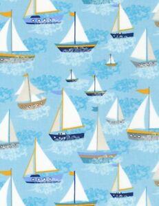 Nautical-Fabric-Sailboats-on-Light-Blue-Timeless-Treasures-YARD