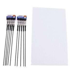 10pcs-Hobby-Craft-Model-Parts-Alligator-Clip-Stick-Painting-Foam-Stand-Base