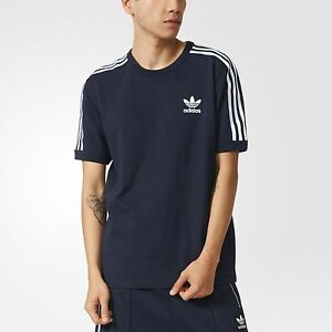 adidas Modern Graphic Tee Mens Blue