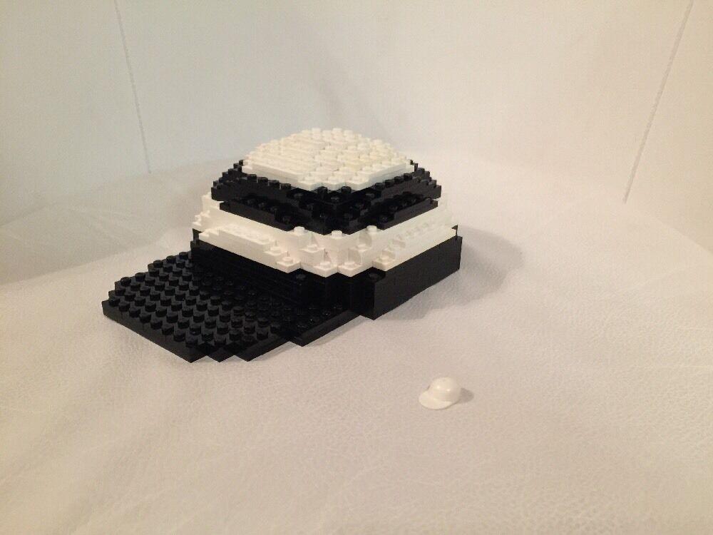 LEGO 19  Store Display Figure Minifigure 3723 Custom Master Builder Hat Cap