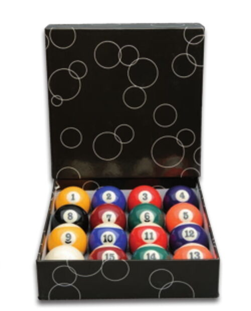 Pool Billard Balls, Billiard Ball Professional 57,2 mm, New