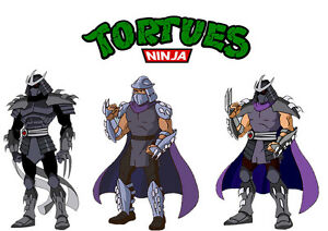 Sticker autocollant poster a4 dessin anime tortue ninja mutant logo mix shredder ebay - Dessin anime ninja ...