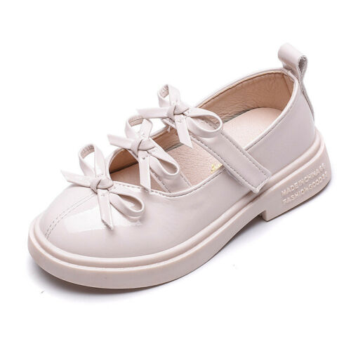 New Kids Students School Shoes for Girl Children Princess Shoes Size 8-2