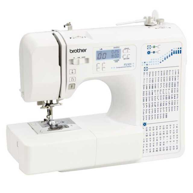 NEW Brother FS101 Computerised Sewing Machine By Spotlight