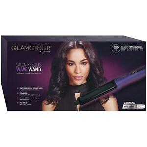 Glamoriser-Salon-Results-Professional-Wave-Wand-Women-039-s-Hair-Styler-Curling-Tong