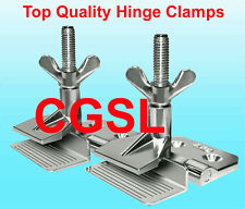 10 Pcs Heavy Duty Silk Screen Printing Hinge Clamps Butterfly Frame Hinge Clamp