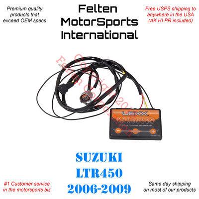 Lexx Suzuki LTR450 Fuel Controller Power Programmer Tuner EFI LTR 450 450Z  06-09   eBay
