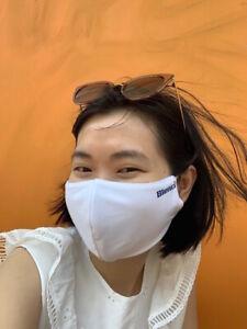 2 Pcs Face Masks 100 Cotton Triple Layer Protection Washable Reusable Unisex Ebay