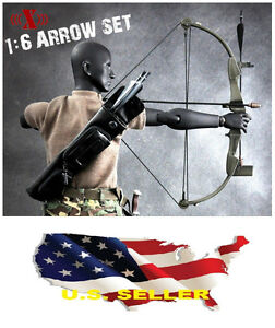 1-6-arrow-set-first-blood-rambo-messer-fuer-12-034-figur-hot-toys-narrow-body
