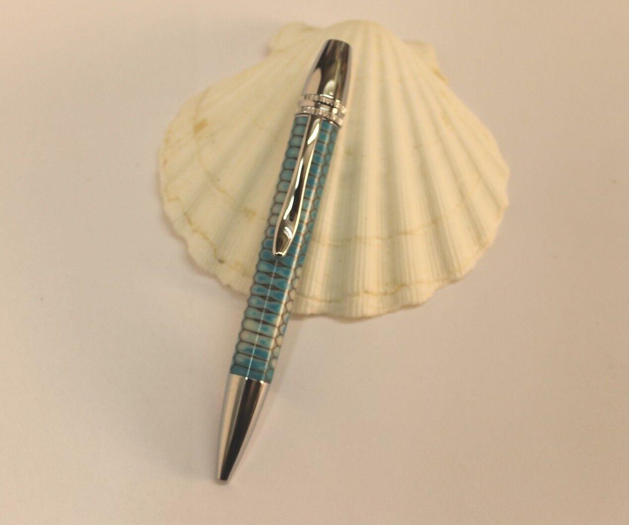 Kugelschreiber, Drehkugelschreiber, Imker, Wabendesign, Unikat, handgedrechselt       Guter Markt  02867c