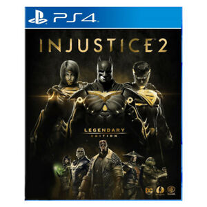 Injustice-2-Legendary-Edition-Steel-Book-PlayStation-PS4-2018-Asia-HK-English