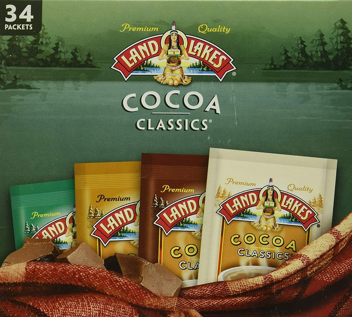 Land O/' Lakes Cocoa Classics Variety Pack 34 count