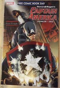 NEW-Steve-Rogers-CAPTAIN-AMERICA-Marvel-FCBD-Plus-DEAD-NO-MORE