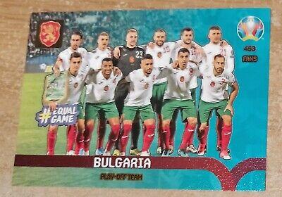Panini Adrenalyn XL Euro 2020 Irlanda tarjeta de equipo de play-off