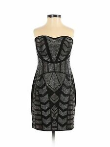 NWT GUESS Women Black Cocktail Dress S