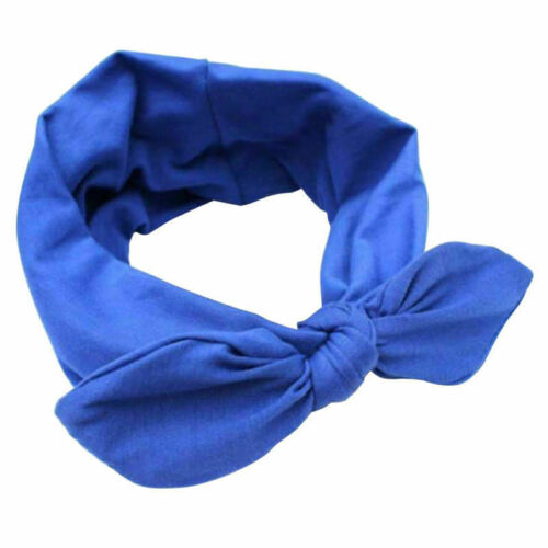 Details about  /Ribbon Wide Headband New  Hairband Bunny Wire Ear Rabbit Bow Bowknot Bendy