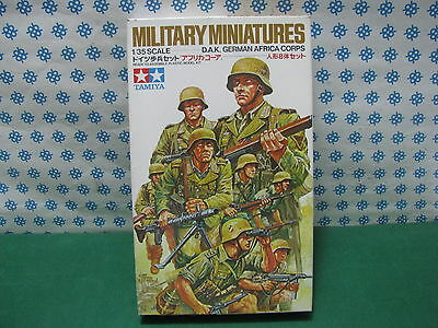 Collezione Qui Vintage - D.a.k. German Africa Corps - 1/35 Tamiya 35037