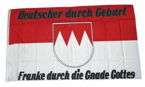 Bandiera//bandiera FRANKE attraverso la grazia di Dio hissflagge 90 x 150 cm