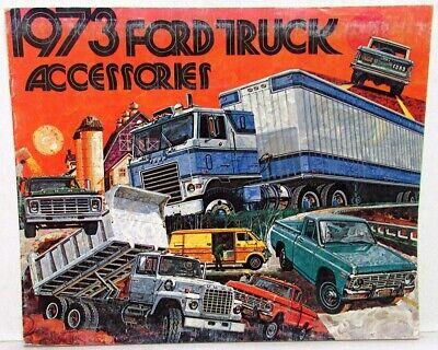 1973 Ford Econoline Van Brochure Display//Window//Etc
