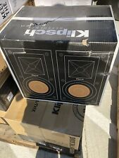 Item 4 Klipsch R 15M Pair Of 2 Bookshelf Speakers Reference 525 Box Damage
