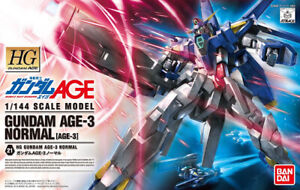 Bandai Gunpla High Grade HG 1/144 Gundam AGE-3 Normal