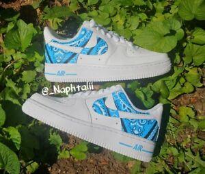 Nike Bandana Swap Air Force 1 Custom Any Size Made To Order Ebay