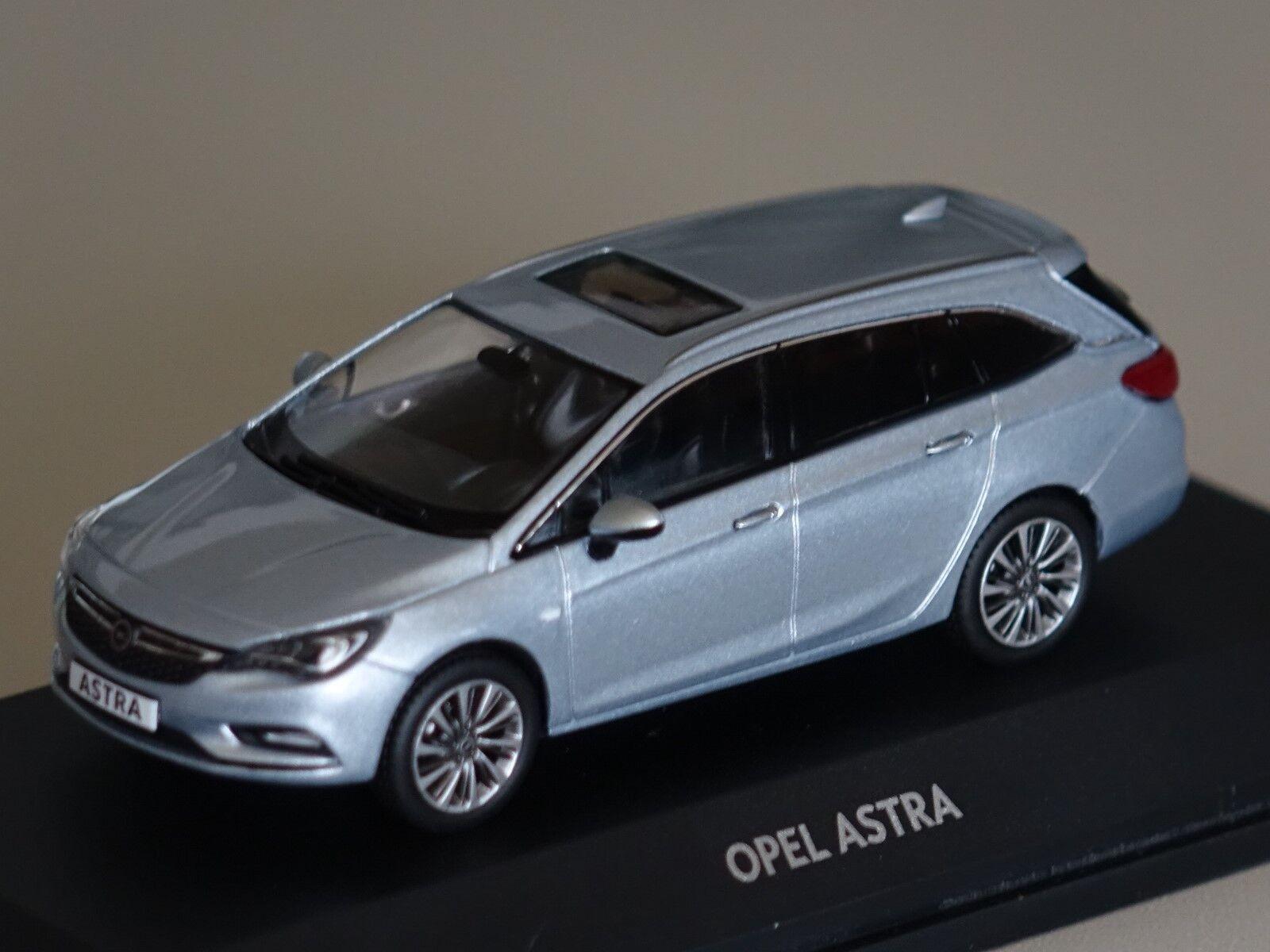 Opel Astra K Sports Tourer 2016 hellblau hellblau hellblau met. 1 43 iScale 10920 neu &  OVP    Gewinnen Sie hoch geschätzt  6c4c1a