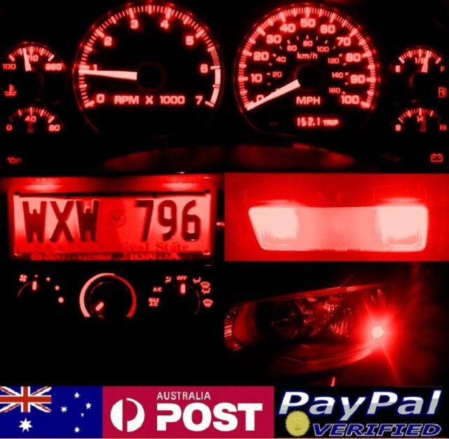 Red Full LED Conversion Kit (ALL LIGHTS) Mitsubishi Lancer Mirage CA CB CC CE