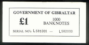 GOVERNMENT-of-GIBRALTAR-1-ONE-POUND-THICK-CARTON-NOTE-COVER-P20e-of-1988