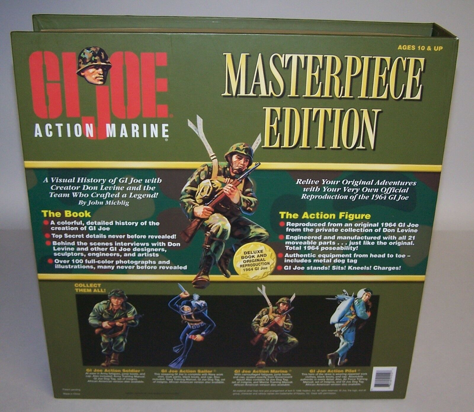 GI Joe Action Marine The The The Story Behind The Legend Masterpiece Ed 1964 Repro dc617a