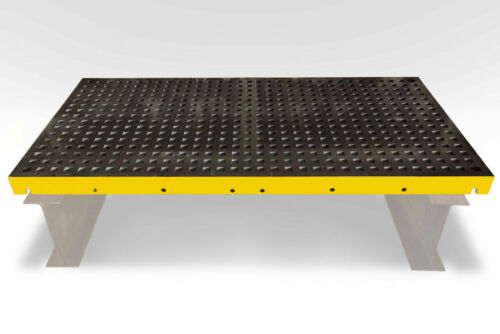 NEW 5 FT x 10 FT Welding Platen Cast Iron Layout Table 5x10 Acorn Style