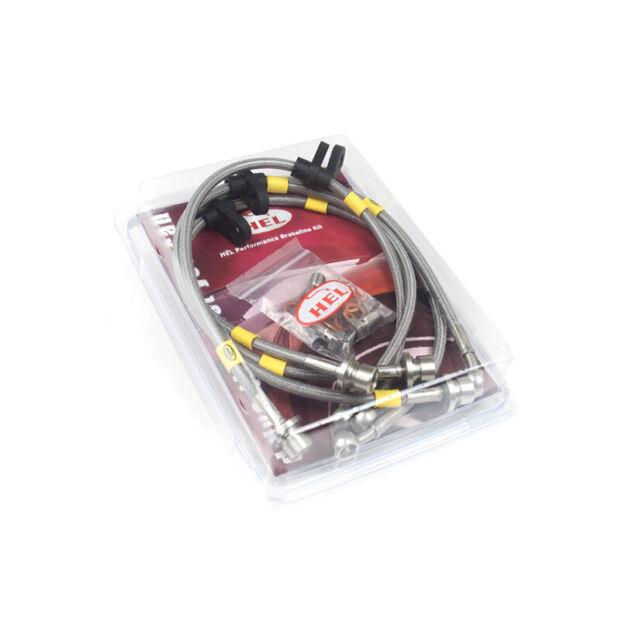 HEL BRAIDED BRAKE LINES FOR PORSCHE 911 3.3 TURBO