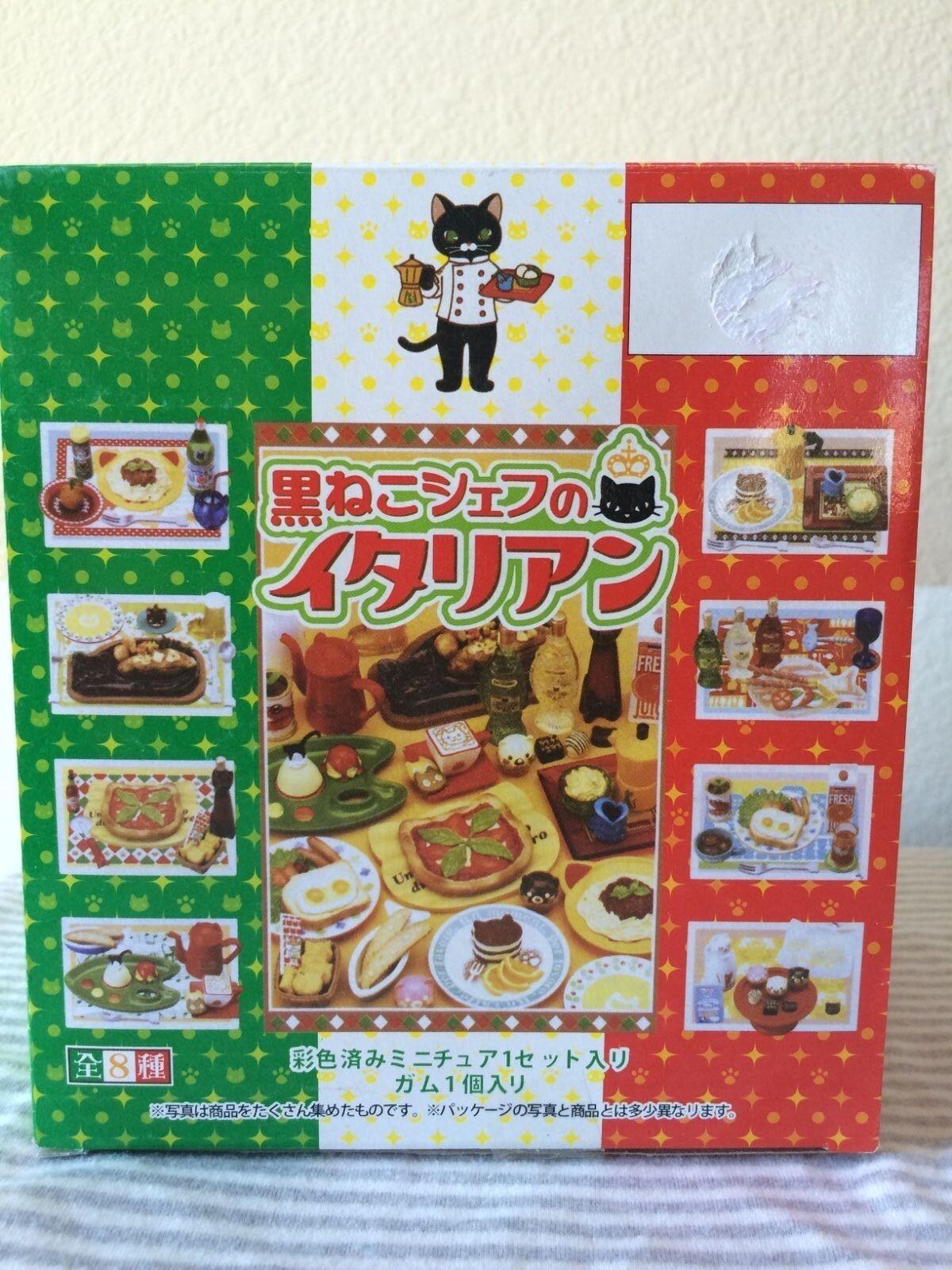 Megahouse miniaturas Gato Negro Cafe, completa  1-8, 1 6 Cocina Barbie alimentos re-ment