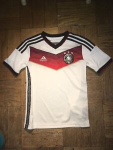 Details about Adidas Germany Soccer Jersey Kids Size Small