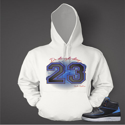 23 Hoodie to Match AIR JORDAN 2 Radio Raheems Schuhe Graphic Hoodie Pullover