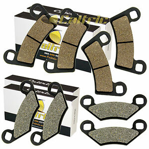 FRONT-and-REAR-BRAKE-PADS-FIT-POLARIS-RZR-800-EFI-2008-2014