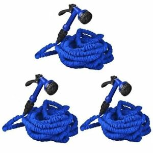Expandable-Flexible-Garden-Hose-up-to-100ft-Set-of-3