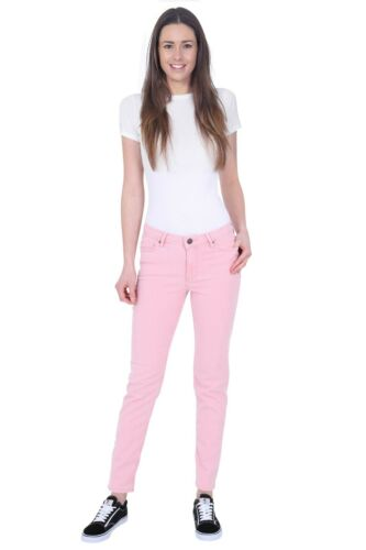 Ex M/&S Mid Rise Ladies Womens Slim Stretchy Denim Cotton Jeans Relaxed 6-24 UK