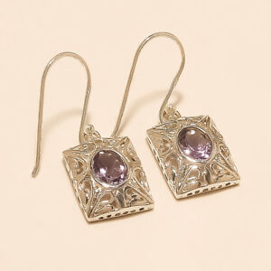 Natural-Panorama-Amethyst-Earrings-925-Sterling-Silver-Women-Fine-Jewelry-Gifts