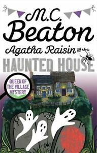 Agatha-Raisin-and-the-Haunted-House-by-M-C-Beaton-New-Paperback-Book