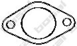 Abgasrohr für Abgasanlage BOSAL 256-040 Dichtung