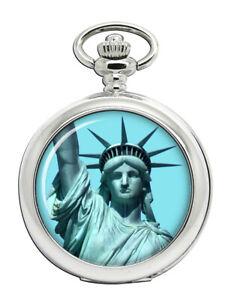 Statue-von-Freiheit-Taschenuhr