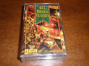 Holiday-Classics-CASSETTE-various-SEALED