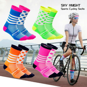 Unisex-Racing-Cycling-Socks-Outdoor-Sports-Socks-Compression-Nylon-Socks