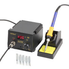 937D+ Rework Soldering Station SMD Welding Welder Iron Tips Stand ESD 110V New