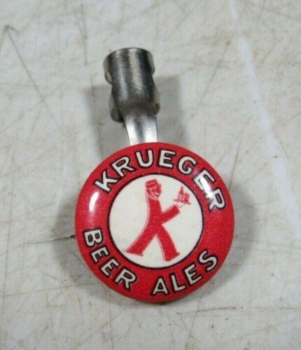 Vintage 1940/'s 50/'s Krueger Beer Ales Pencil Advertising Button Topper Sign